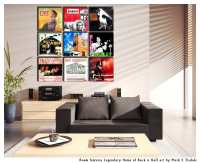 Album Cover Wall Art Display Ideas - Grouping With Art ...