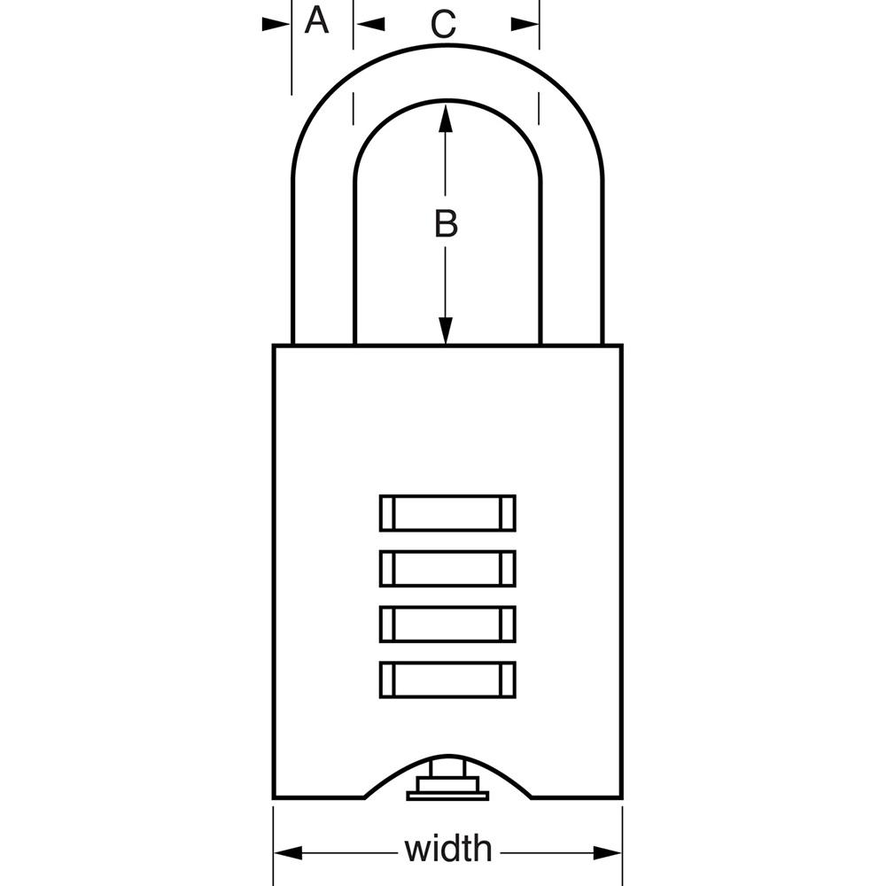Master 651 Padlock Instructions