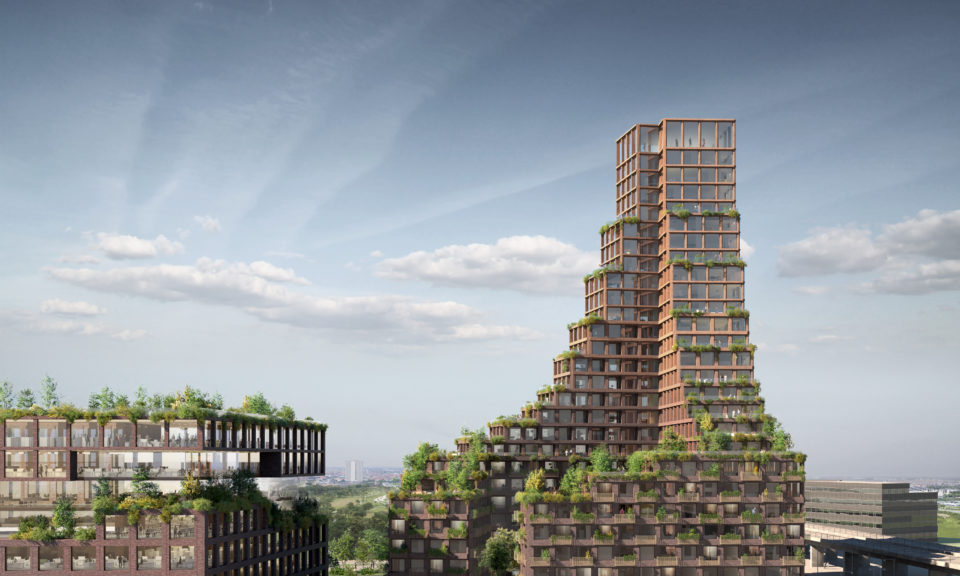 The World S First Upcycled High Rise Building