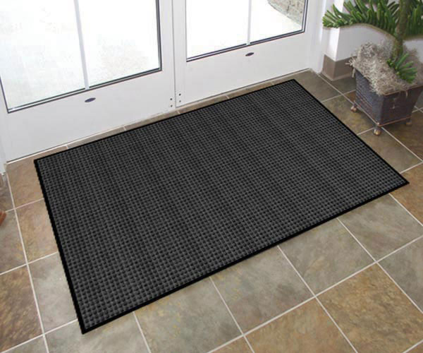 custom size chair mats for carpet hire covers coventry rubber entry office or home that absorb water