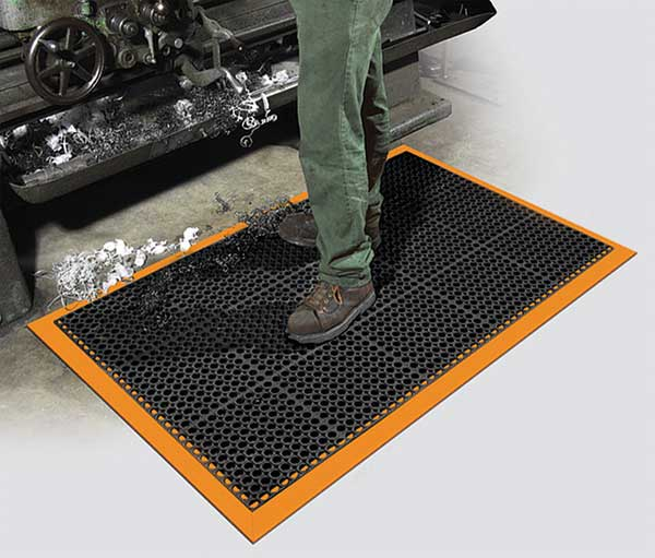heavy duty office chair mat for carpet hickory fabrics drainage with safety borders