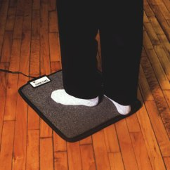 Office Chair Mats For Carpet Home Theater Chairs Sam S Club Foot Warmer Mat Under Your Desk