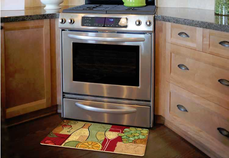 Decorative Kitchen Floor Mats  Stain Proof