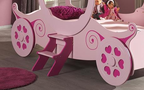 leather sofa bed with sprung mattress jual inoac di bandung princess carriage - online