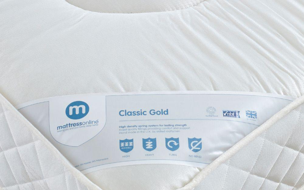 Classic Gold Mattress  Mattress Online