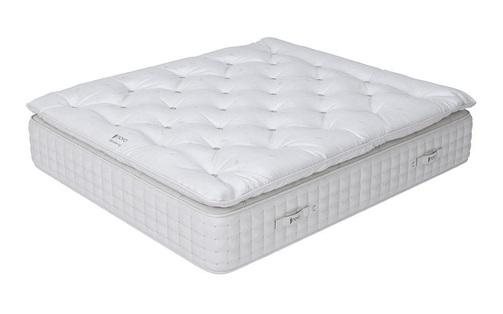novo natural 3000 pocket pillow top mattress single