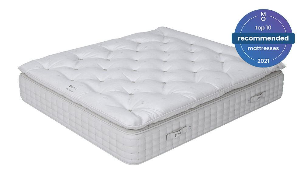 novo natural 5000 pocket pillow top mattress single
