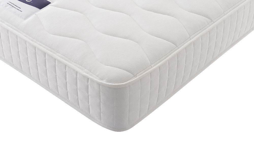 corner sofa bed fabric uk leather suppliers silentnight essentials mirapocket 1000 mattress - ...