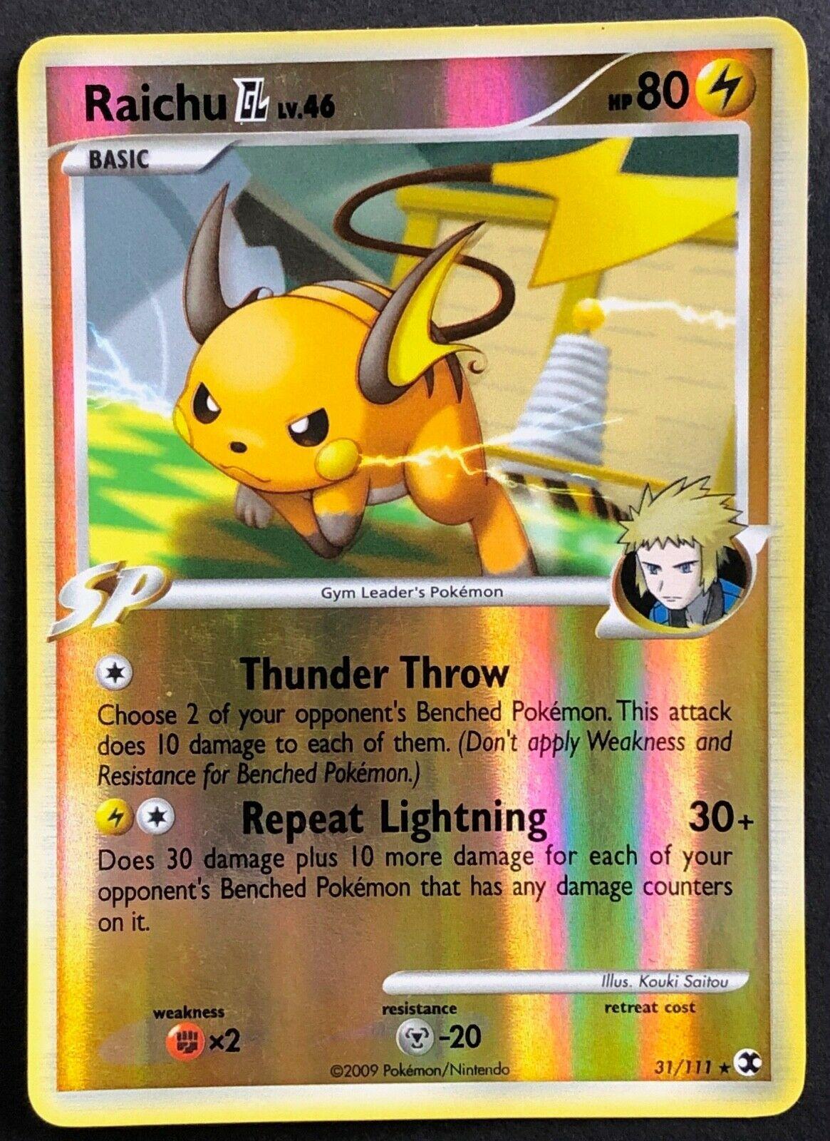 Http Www Pokemon Gl Com : pokemon, Raichu, Rising, Rivals, 31/111, Value:, [scrape_image:10] <script type=