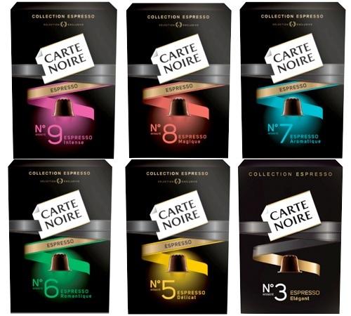 pack decouverte carte noire 60 capsules pour nespresso