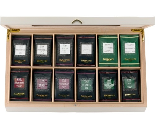 coffret the palace 72 sachets de 12 parfums dammann freres