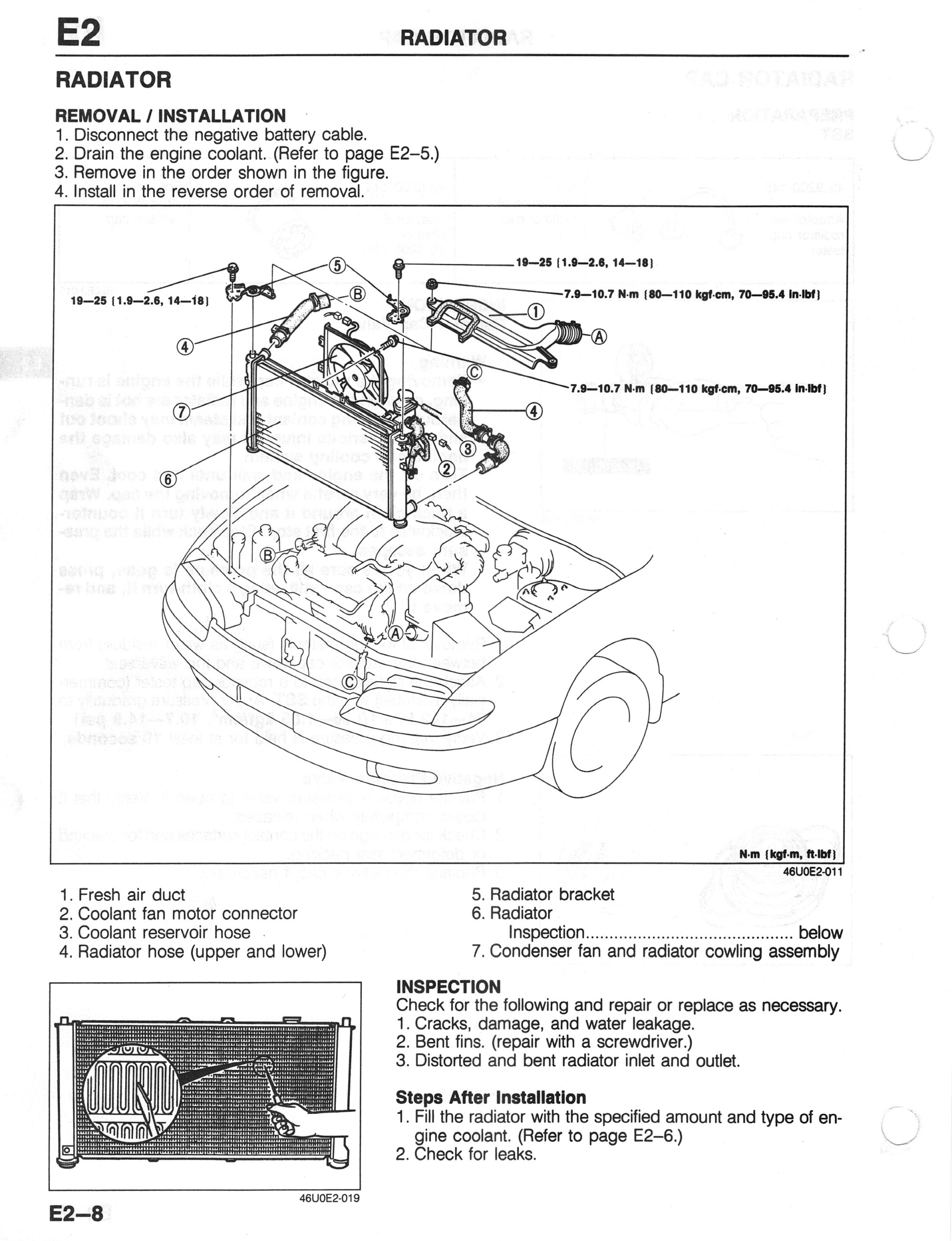 hight resolution of 2000 mazda 626 4 cylinder coolant system diagram images gallery