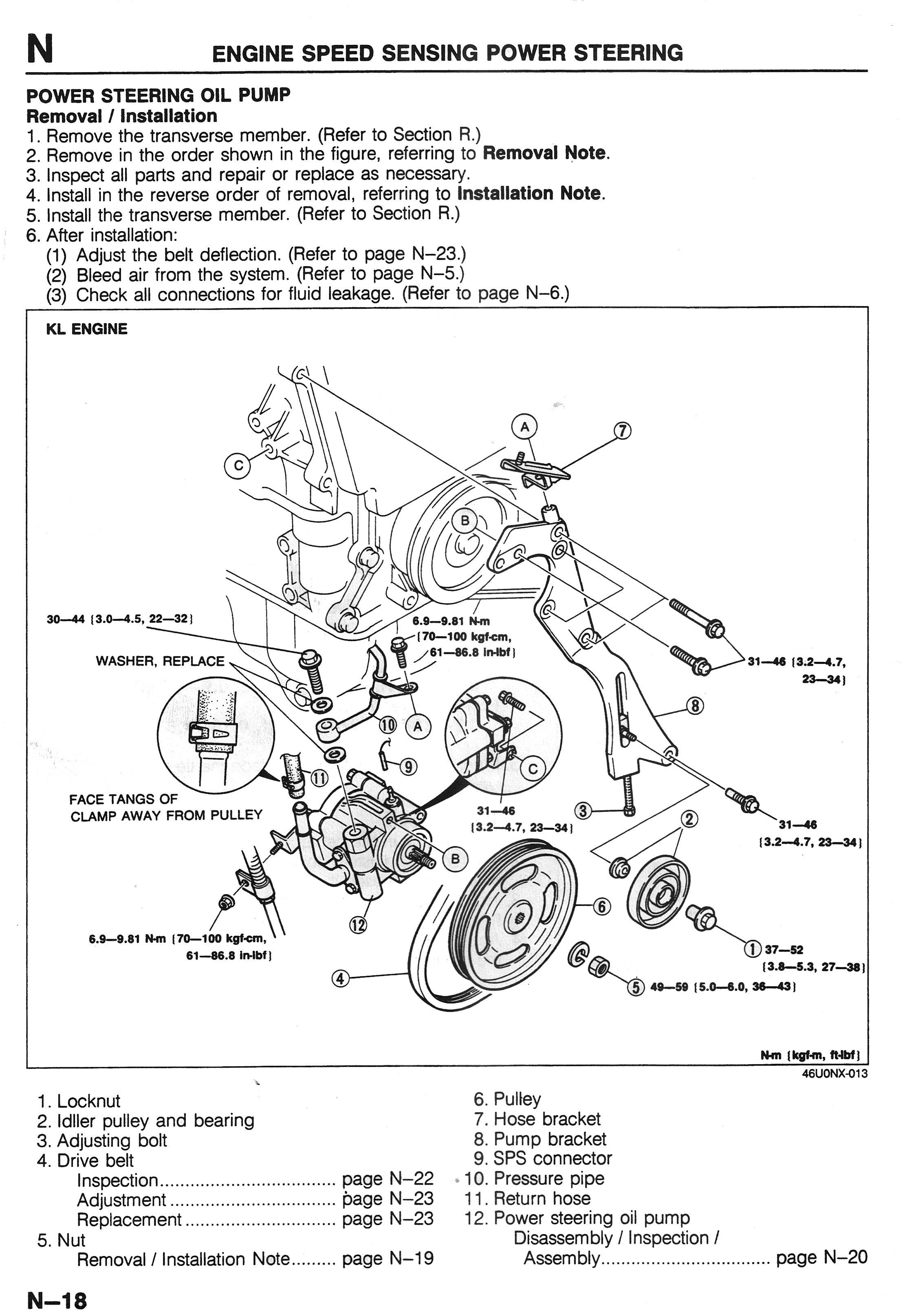 Mazda 626 Steering Diagram. Mazda. Auto Parts Catalog And