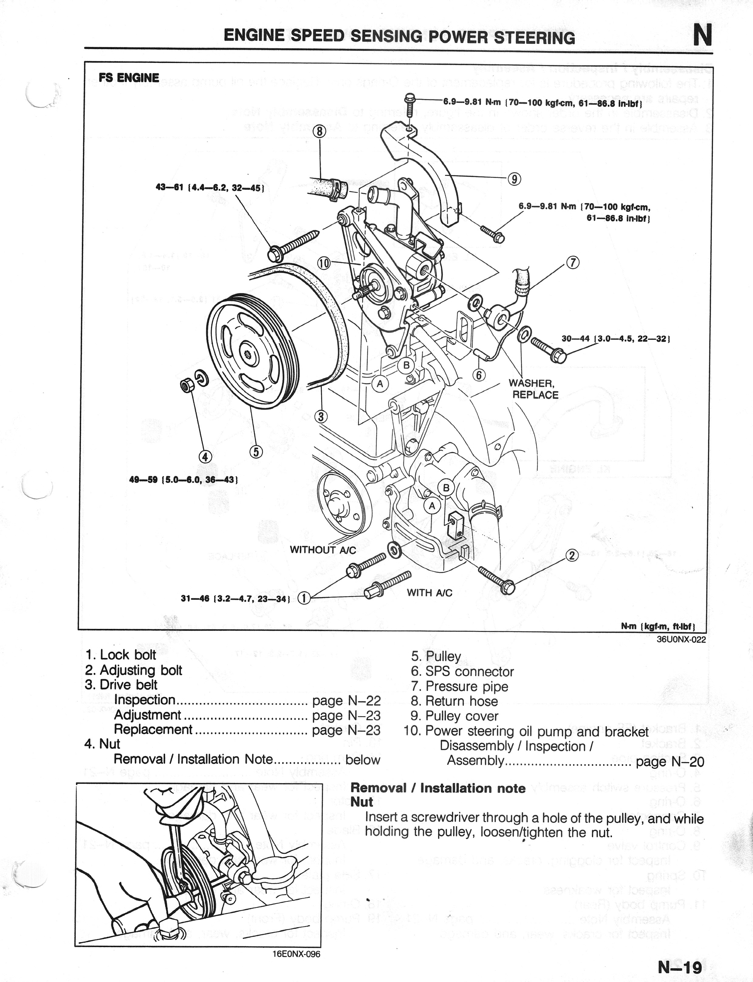 2001 mazda tribute serpentine belt diagram how to wire a rocker switch 626 pulley great installation of wiring