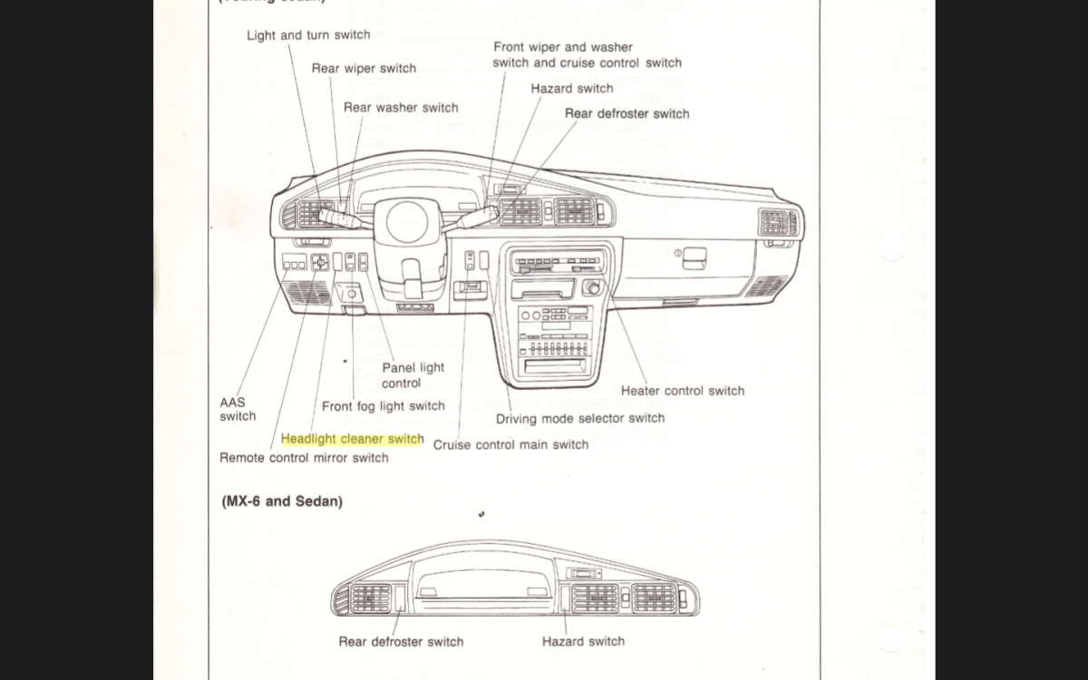1999 Mazda Miata Alternator Wiring Diagram