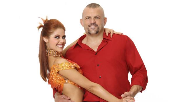 Chuck Liddell & Anna Trebunskaya -- Image via ABC.com