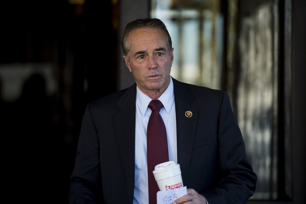 New York Rep. Chris Collins hopes to continue serving as a liaison between the Trump administration and rank-and-file House members. (Bill Clark/CQ Roll Call File Photo)