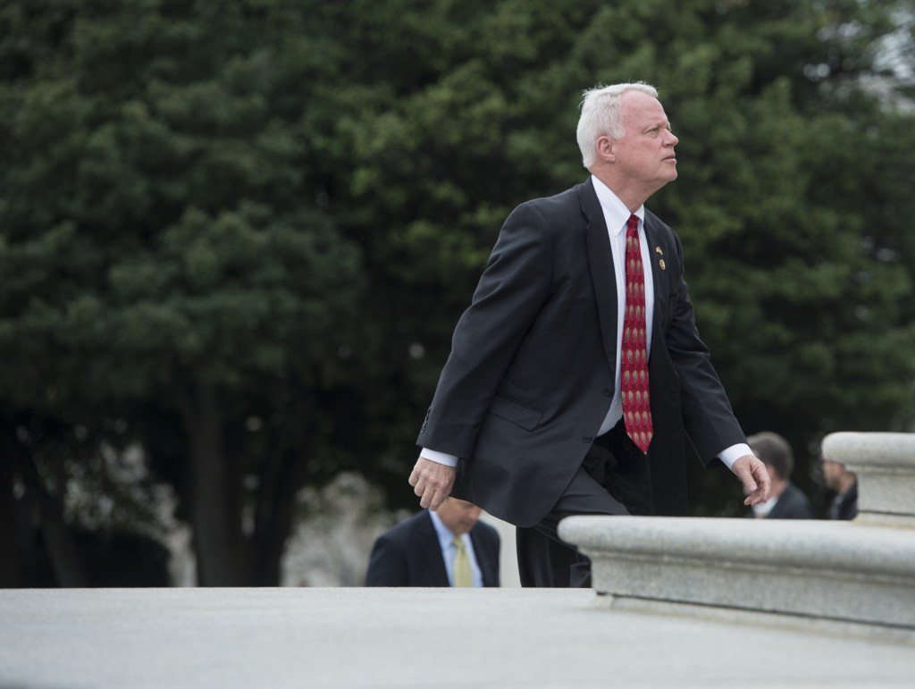 Former Rep. Paul Broun lost a Senate bid in 2014 and is now seeking a return to Congress from a new district. (Bill Clark/CQ Roll Call file photo)