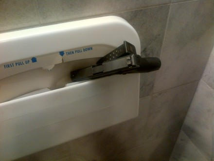 That time a Capitol Police officer left a service weapon in the bathroom. (CQ Roll Call file photo)