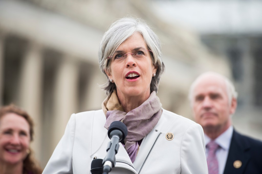 Massachusetts Rep. Katherine M. Clark has been a leading voice on gun control in the House. (Bill Clark/CQ Roll Call file photo)