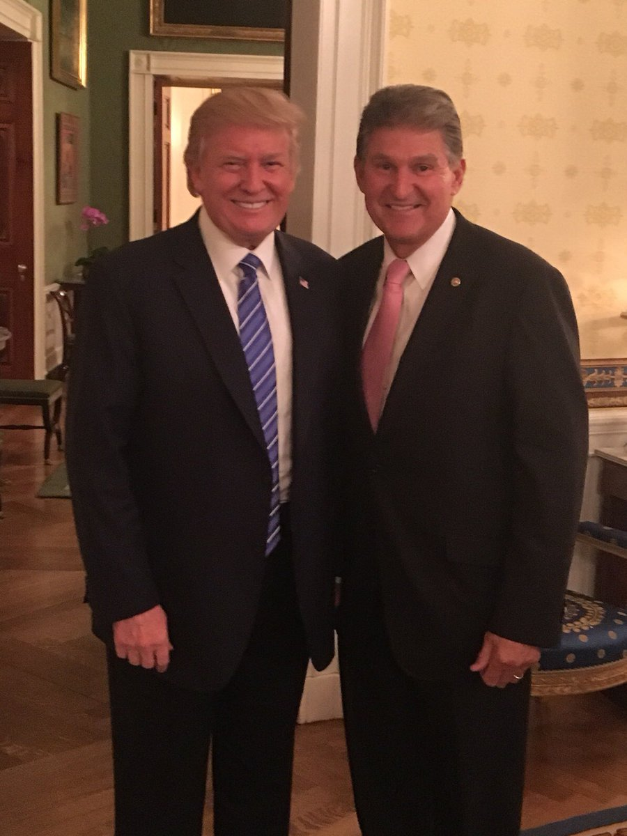 Rally Will Mark Tipping Point for Trump-Manchin Relationship - Roll Call