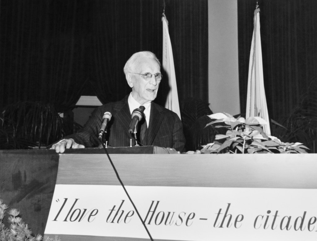 Speaker of the House Rep. John William McCormack, D-Mass., House of Representatives Member. (Dev O'Neill/CQ Roll Call File Photo)