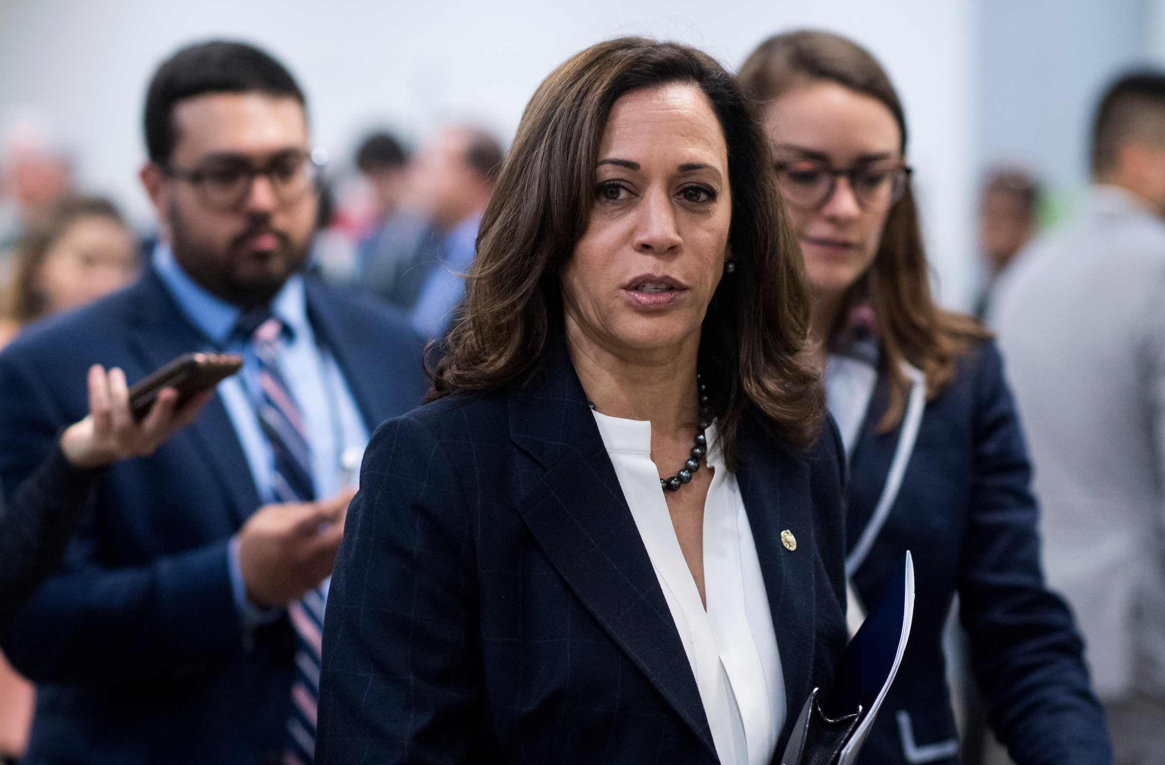Harassment Claim Arrived At California Doj Months Before Sen Kamala Harris Left Roll Call