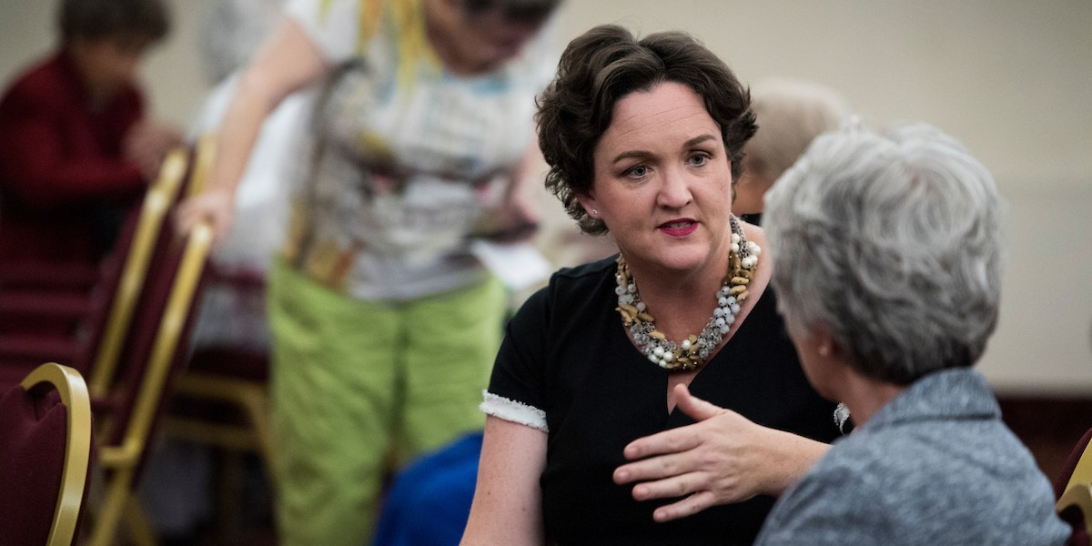 DCCC Poll Shows Katie Porter With Slight Lead Over Mimi Walters - Roll Call