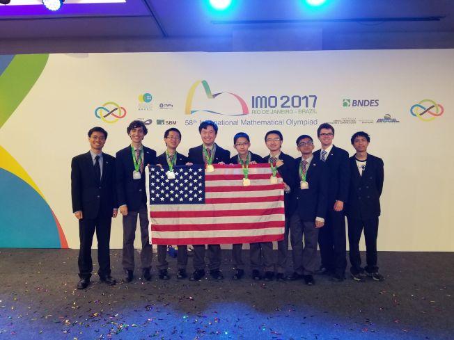 國際奧數 美團體第4 四華生2金2銀 | 世界新聞網
