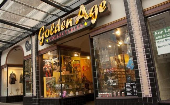 Golden Age Collectables Vancouver Bc 852 Granville St
