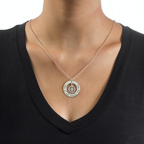 Kompass Halskette  MeineNamenskette