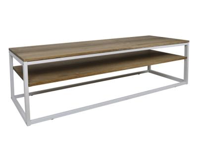meuble tv style industriel bois massif