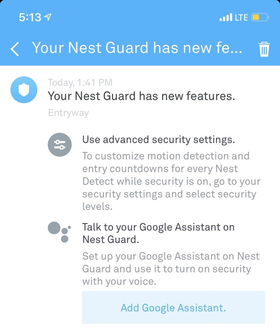 Nest does not play fair with security and privacy - Archy