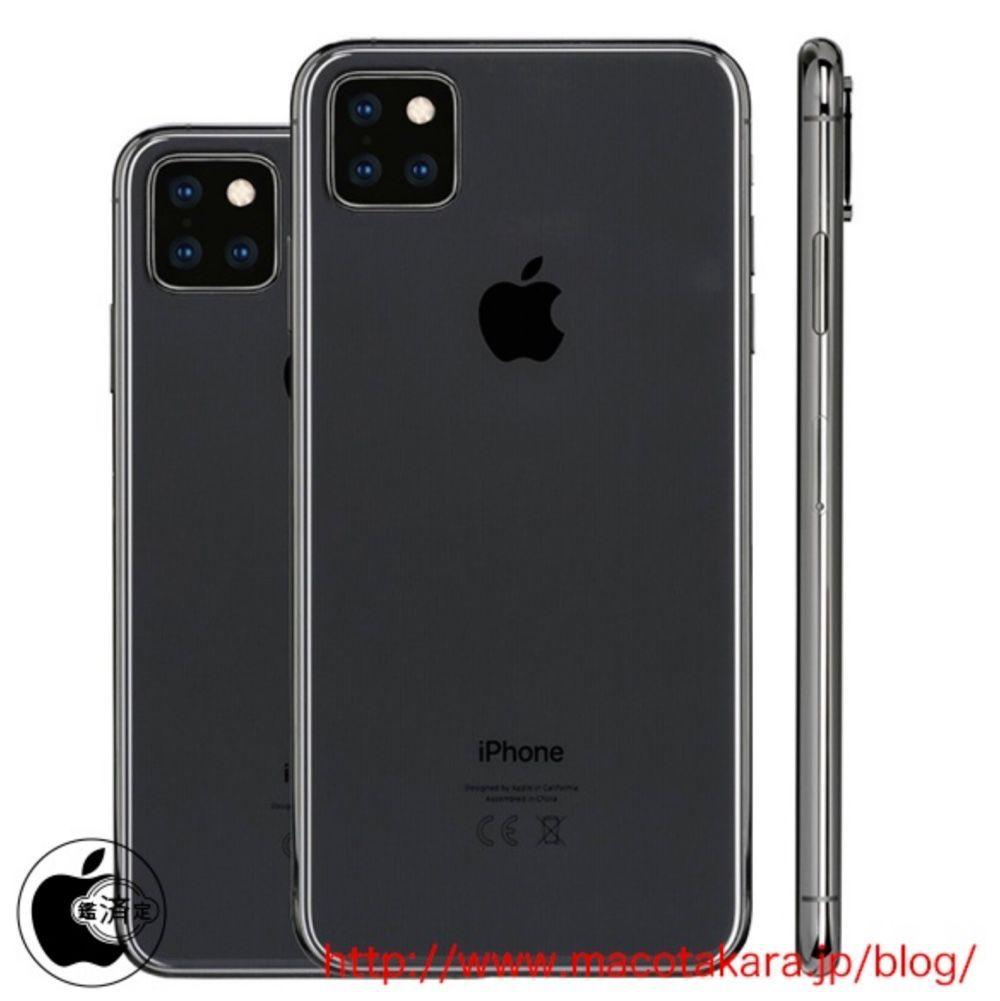 cinq nouveaux iphone en 2019
