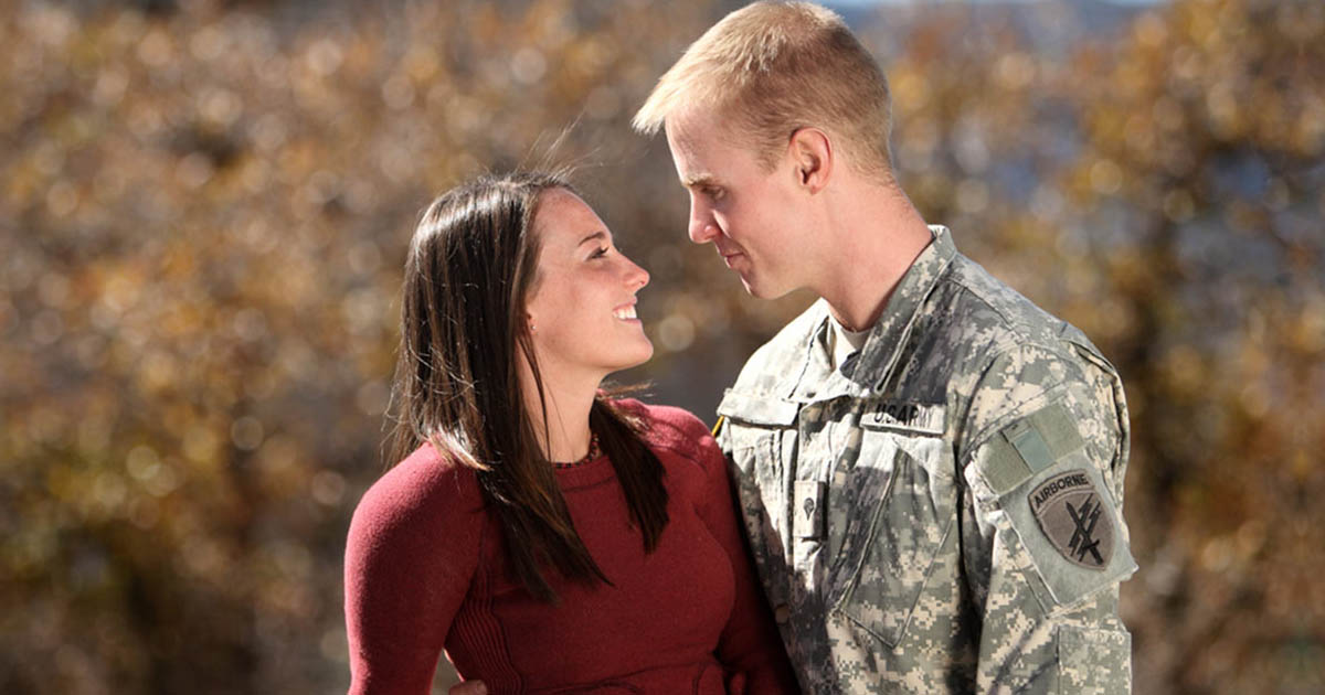 military dating singles at