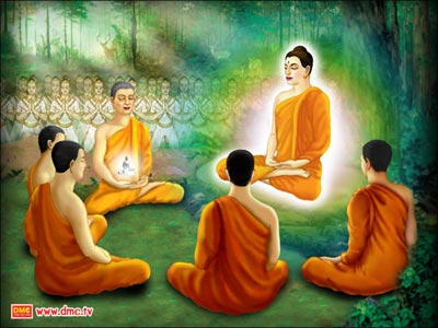 First-sermon-of-Buddha