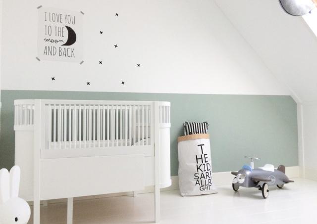 Babykamer kleuren  De laatste trends  MiniMenl