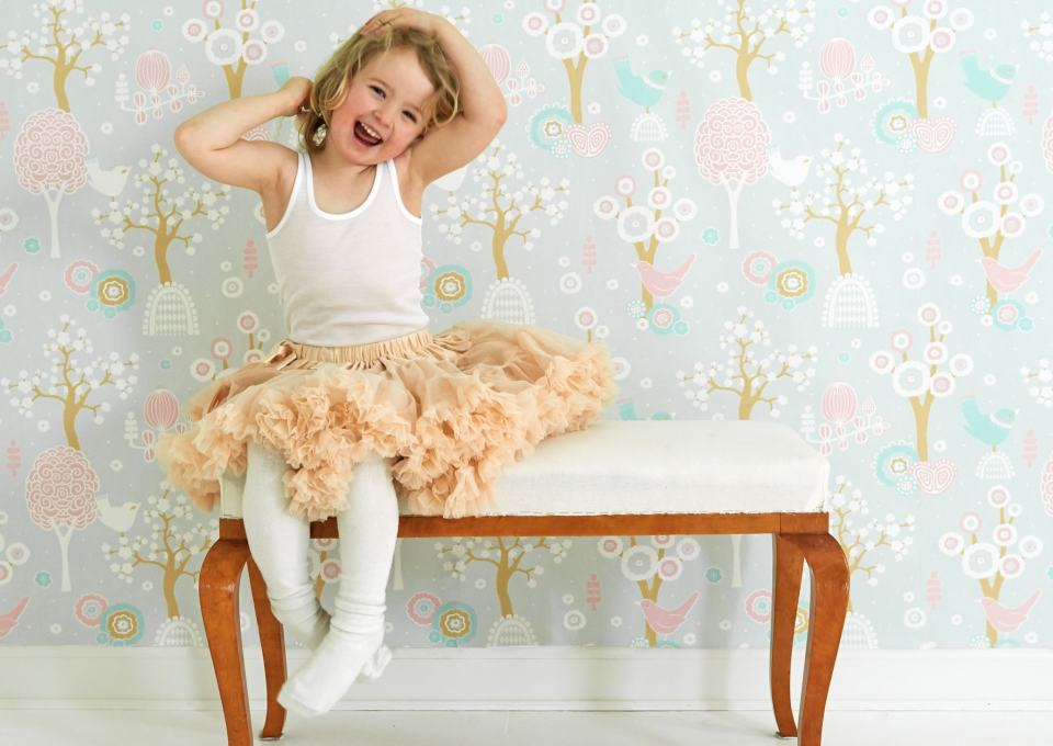 MiniMe Loves behang voor meisjeskamer  MiniMenl