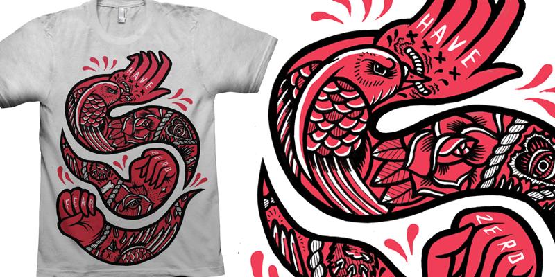 HAVE ZERO FEAR T Shirt Design By C A T S N E E Z E Mintees