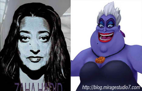 Zaha Hadid | Ursula Little Mermaid