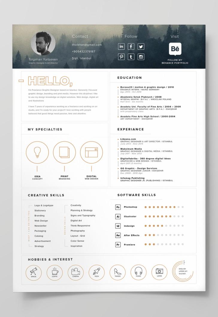 resume cv portfolio