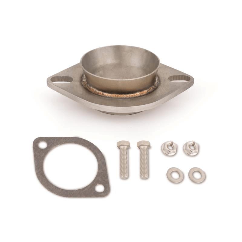 exhaust adapter 3 downpipe to stock exhaust fits subaru