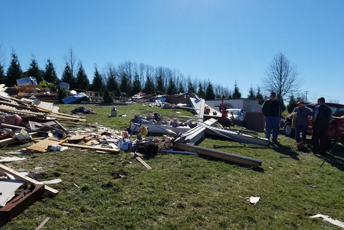 From Clinton County KFEQ Residents recovering from EF2