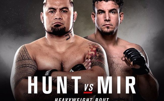 Ufc Fight Night 85 Hunt Vs Mir Event Page And Fight Card