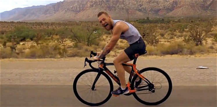 VIDEO Conor McGregor Gets His Cardio On with Former