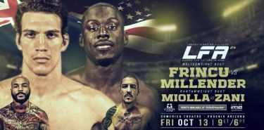 LFA 24 Frincu vs Millender Fight Poster