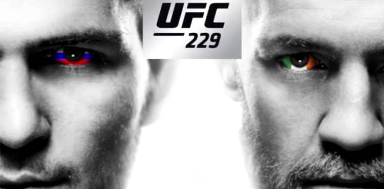 The Official UFC 229 Khabib Vs McGregor Fight Poster Has
