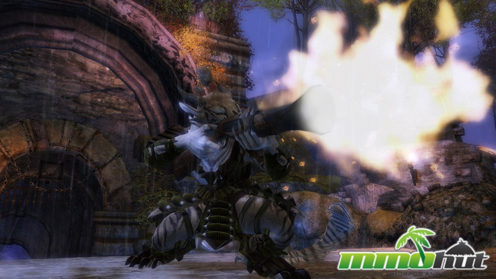 Alone 3d Wallpaper Guild Wars 2 Mmohuts