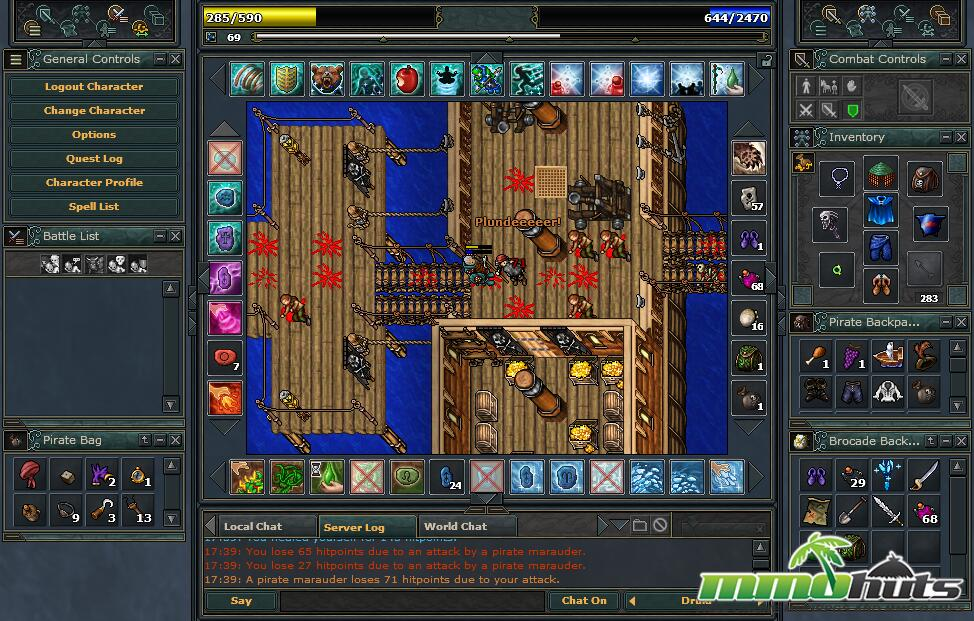 Tibia Review MMOHuts