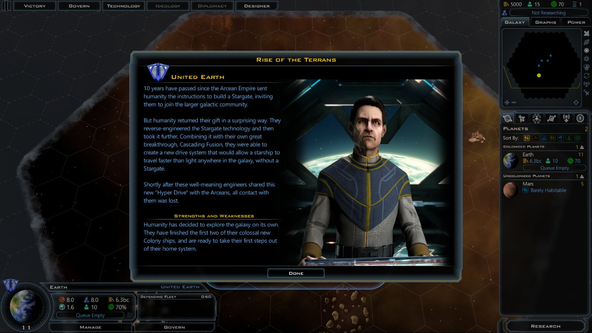 Galactic Civilizations III Rise of the Terrans DLC is Now